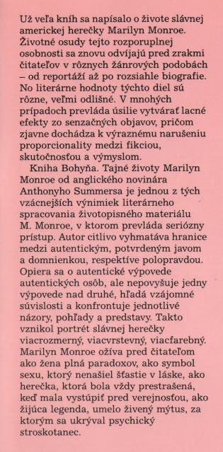 Summers Anthony - Bohyňa ilustr.1