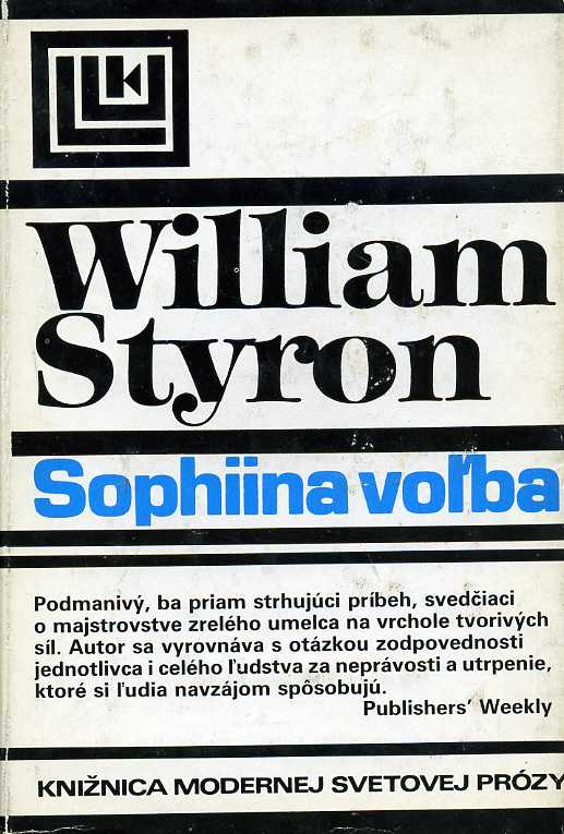Styron William - Sophiina voľba