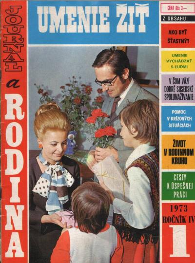 Časopis - Journal a rodina 1973 (6 čísel)