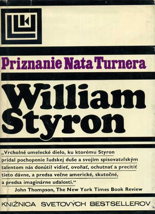 Styron William - Priznanie Nata Turnera