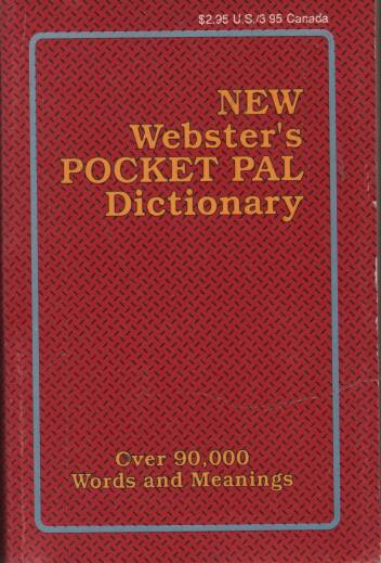 Patterson F.R. - New Websters Pocket Pal Dictionary