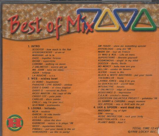 Various - Best of Mix Viva ilustr.1