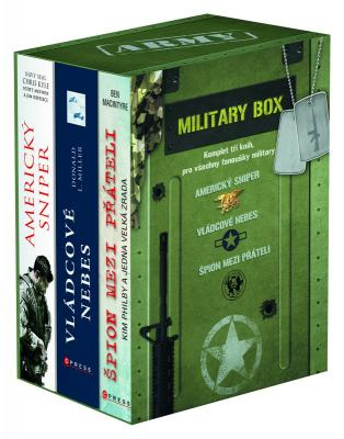 Jim DeFelice- Scott McEwen- Chris Kyle- Donald L. Miller- Ben Macintyre - Military BOX