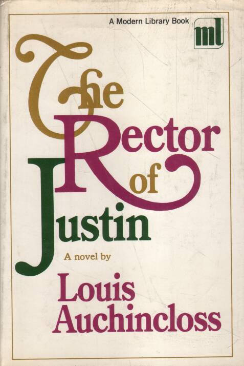 Auchincloss Louis - The Rector of Justin