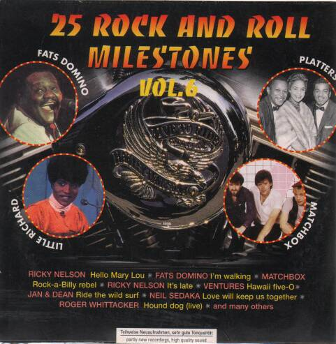 Various - 25 Rock and Roll Milestones vol. 6