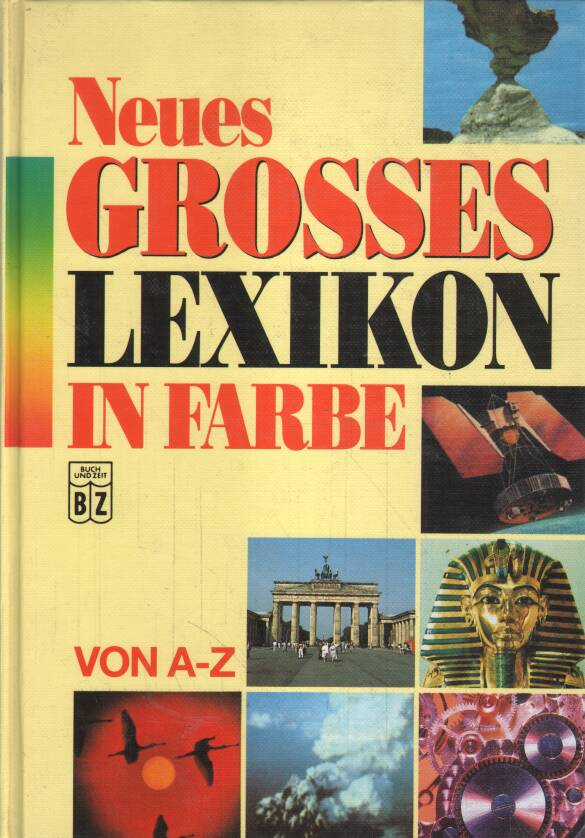 Nemecky - Neues Grosses Lexikon in Farbe