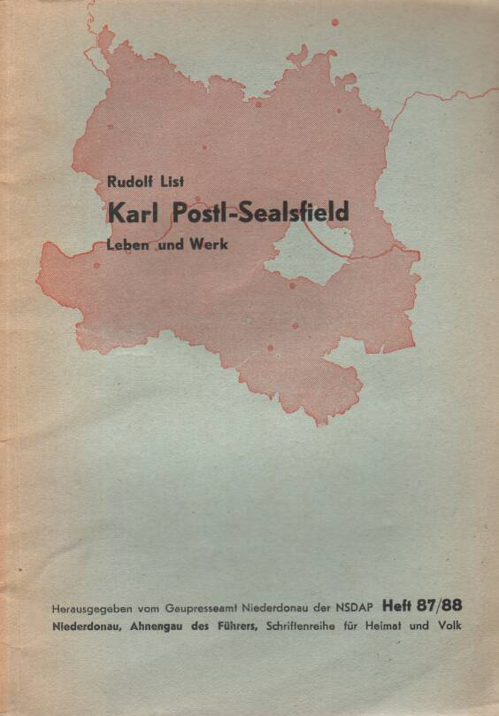 List Rudolf - Karl Postl-Sealsfield