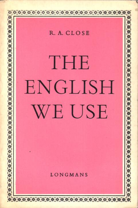 Close A.R. - The english we use