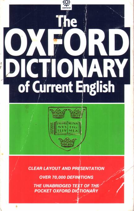 Allen E.R. - The Oxford Dictionary of Current English