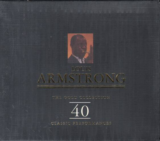 Louis Armstrong - The Gold Collection - 2 CD
