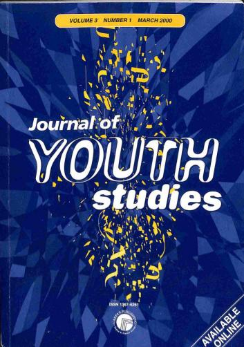 Časopis - Journal of Youth studies 2000 (1 číslo)