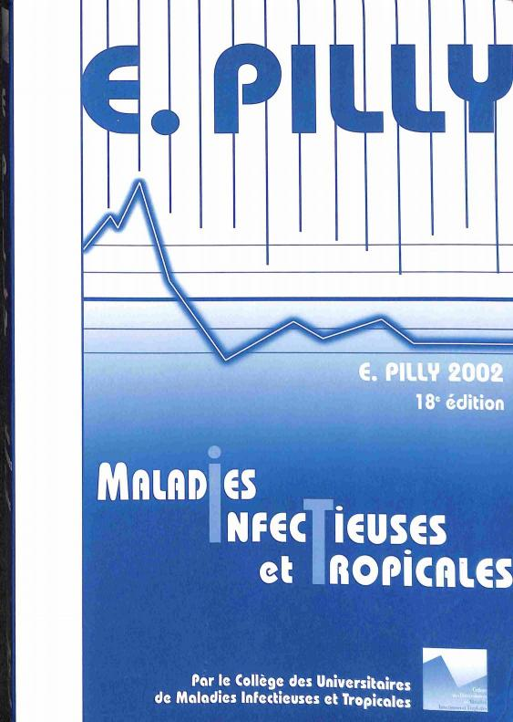 Pilly E. - Maladies infectieuses et tropicales 18e édition