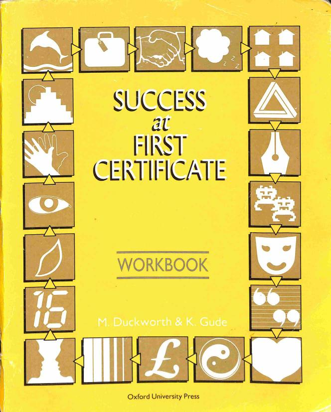 Duckworth Michael - Gude K. - Successat First Certificate