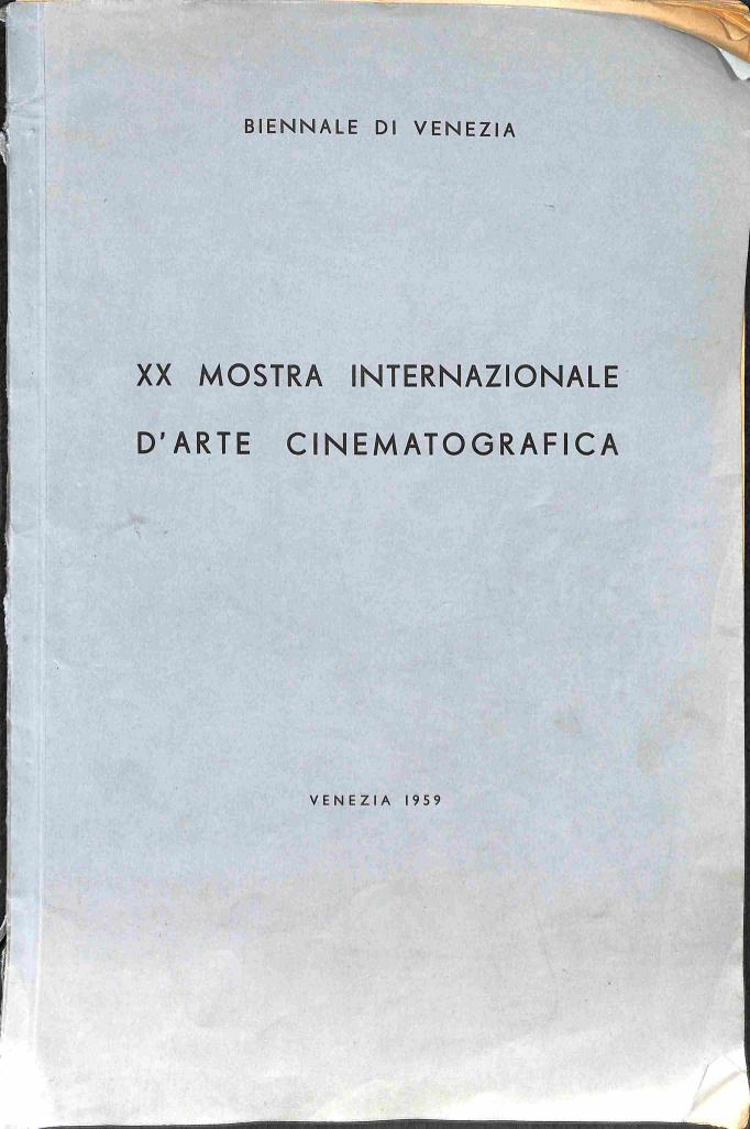 Neuvedený - XX Monstra Internazionale dArte Cinematografica