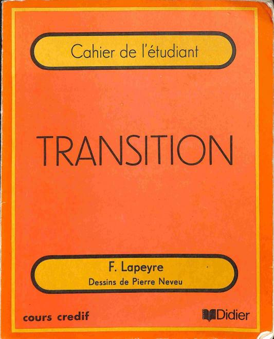 Lapeyre F. - Transition