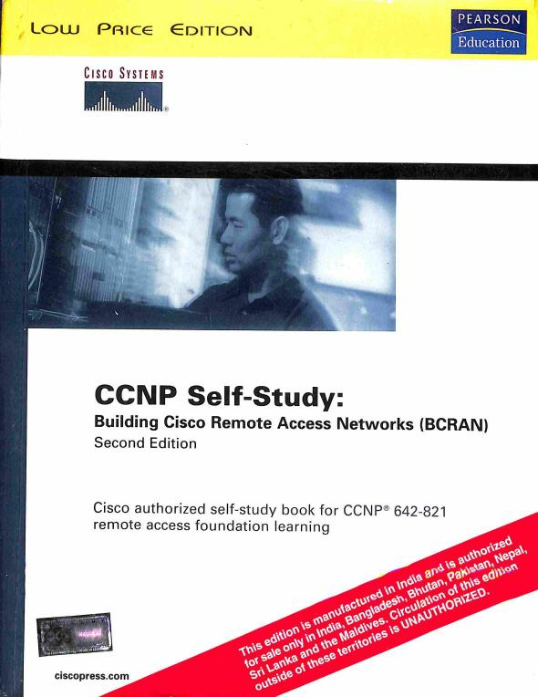 Neuvedený - CCNP Self-Study: Building Cisco Remote Access Networks (BCRAN)