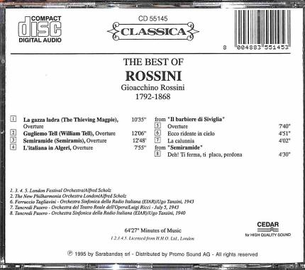 Gioacchino Rossini - The Best of Rossini ilustr.1