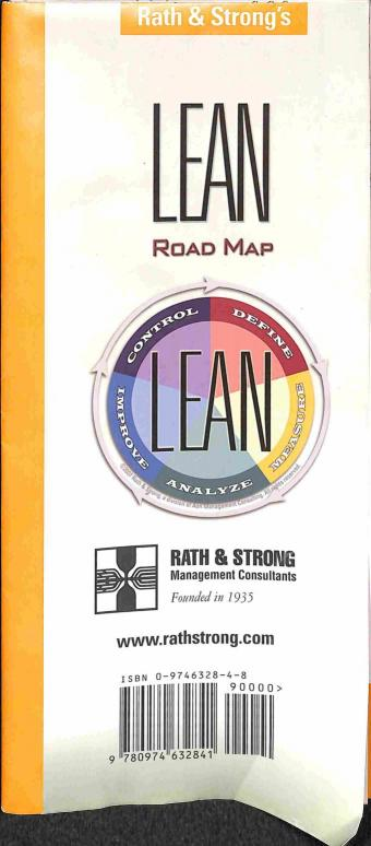 Rath & Strong - Lean - Road Maps