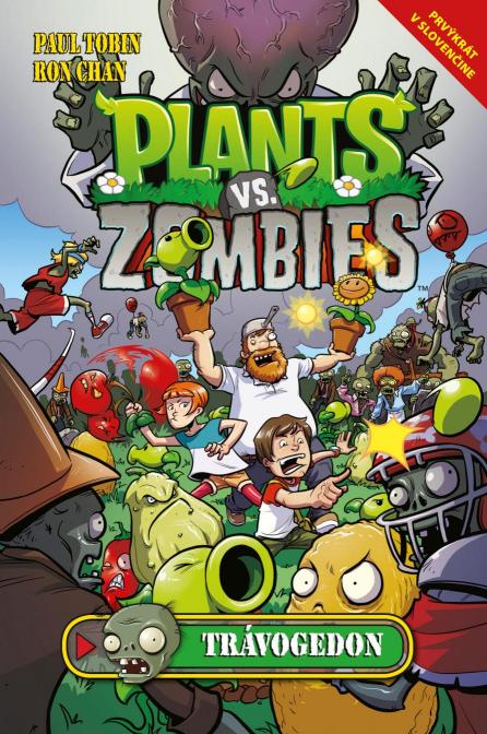 Chan Ron Tobin- Paul - Plants vs. Zombies – Trávogedon