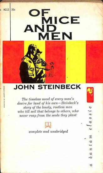 Steinbeck John - Of Mice and Men