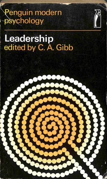 Gibb A.C. - Leadership