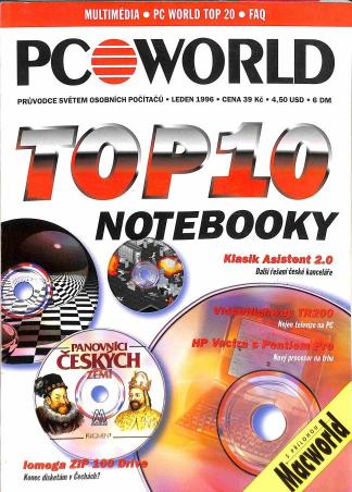 Časopis - PC World 1996 (3 čísla)