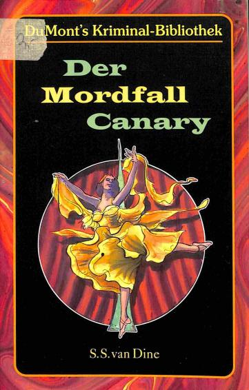 Dine van S.S. - Der Mordfall Canary