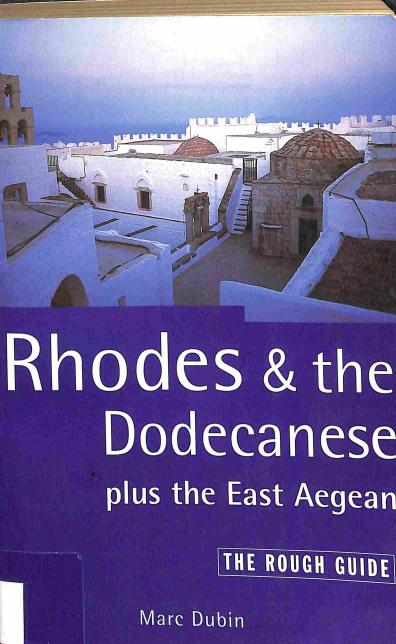 Dubin Marc - Rhodes & the Dodecanese plus the East Aegean