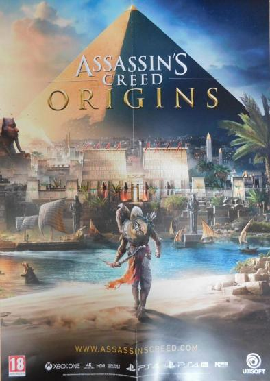 Neuvedený - Assasins Creed Origins - plagát