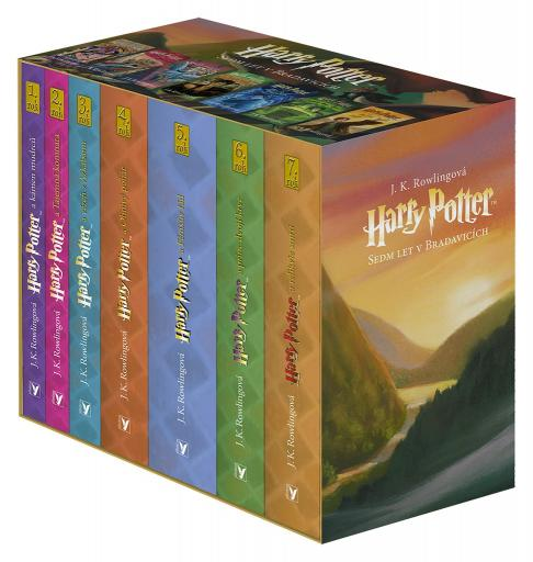 Rowlingová K. J. - Harry Potter box 1-7