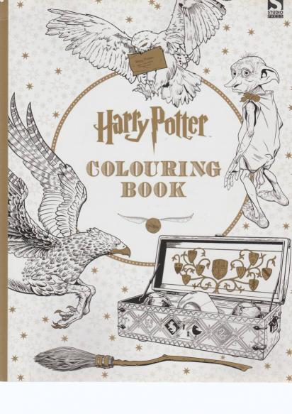 J. K. Rowlingová - Harry Potter: Colouring book