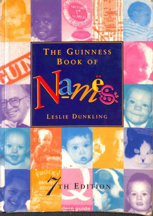 Dunkling Leslie - The Guinness Book of Names
