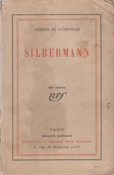 Lacretelle de Jacques - Silbermann