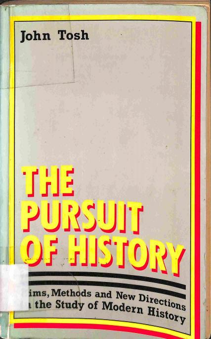 Tosh John - The Pursuit of History