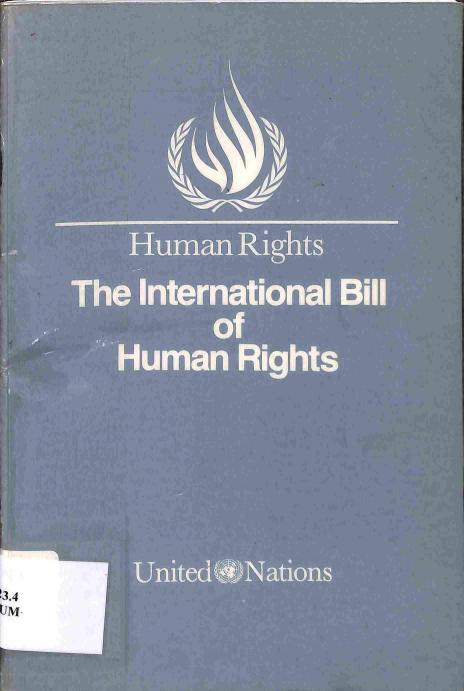 Neuvedený - The International Bill of Human Rights