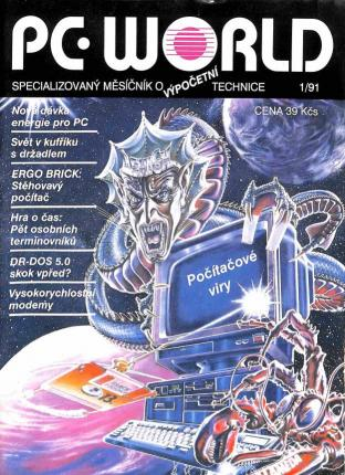 Časopis - PC World 1991 (2 čísla)