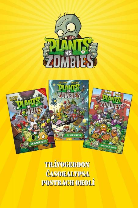 Kolektiv - Plants vs. Zombies BOX žlutý