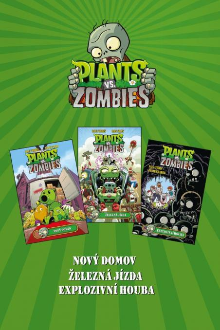 Kolektiv - Plants vs. Zombies BOX zelený
