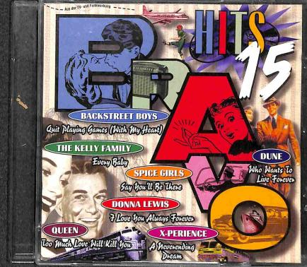 Rôzni autori - Bravo Hits 15 (2 CD)