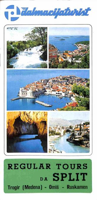 Neuvedený - Regular tours da Split