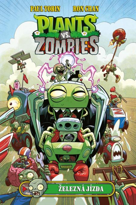 Chan Ron Tobin- Paul - Plants vs. Zombies - Železná jízda