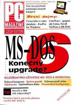 Časopis - PC magazine 1991 č.6