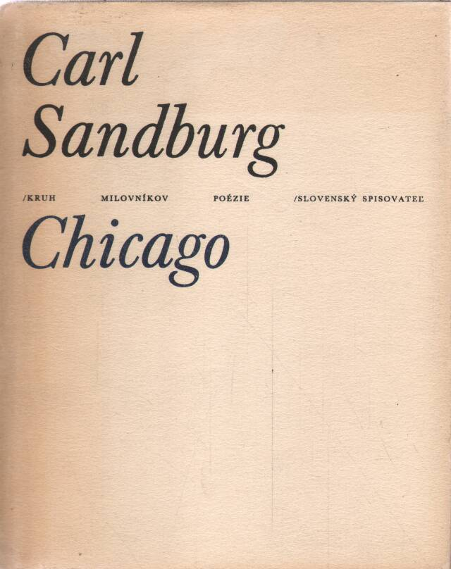 Sandburg Carl - Chicago