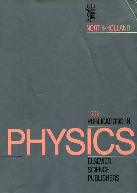 Neuvedený - Publications in physics