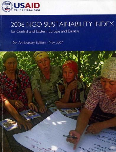 Kolektív - 2006 NGO Sustainability Index