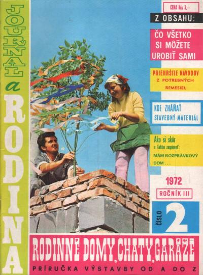 Časopis - Journal a rodina 1972 (2 čísla)