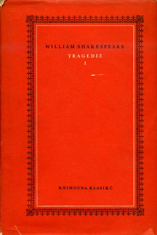 Shakespeare William - Tragedie I