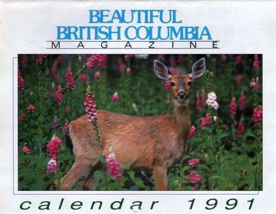 Kalendár - Beautiful British Columbia 1991