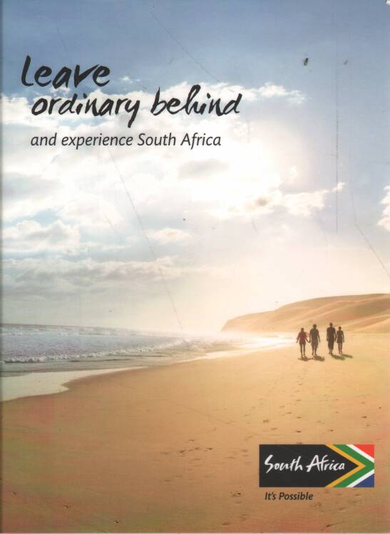 Mapa - Leave ordinary behind and experience South Africa