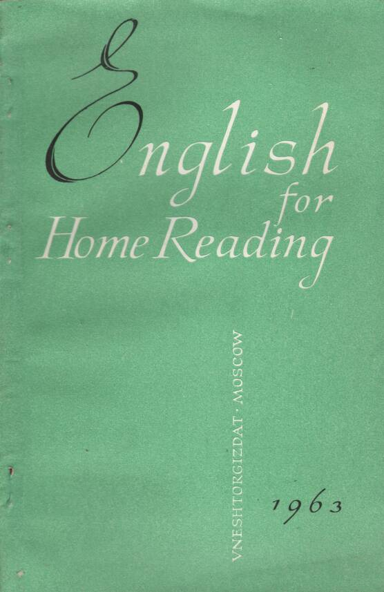 Rôzni autori - English for Home Reading